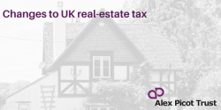 Upcoming changes to real estate tax in the UK